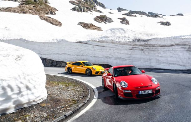 Aniversare în familia Porsche: versiunea 911 GT3 împlinește 20 de ani - Poza 4