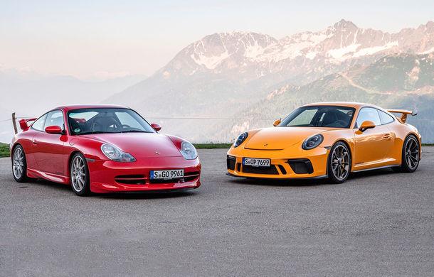 Aniversare în familia Porsche: versiunea 911 GT3 împlinește 20 de ani - Poza 1