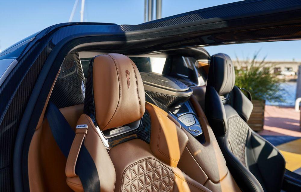 Primele imagini cu interiorul hypercar-ului Pininfarina Battista: debut public pe 16 august, la Pebble Beach - Poza 2