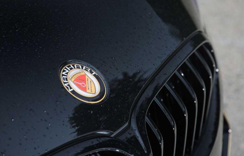 Tunerul Manhart a pregătit modificări pentru BMW Seria 8: versiunea M850i oferă acum 630 CP - Poza 5