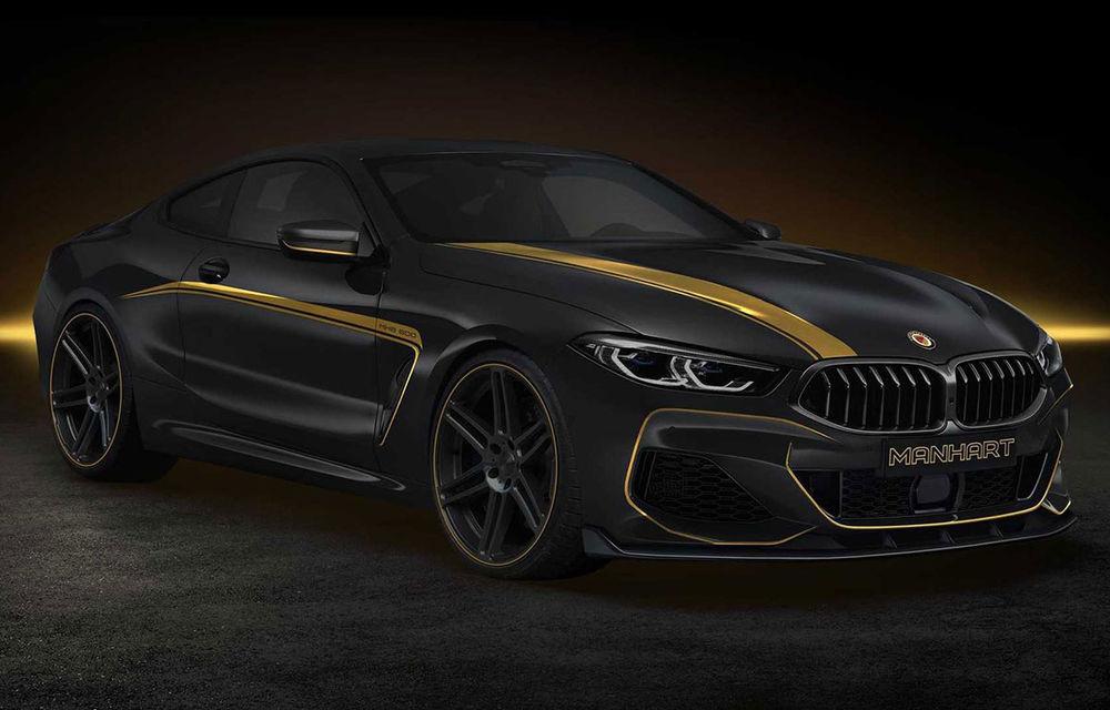Tunerul Manhart a pregătit modificări pentru BMW Seria 8: versiunea M850i oferă acum 630 CP - Poza 1