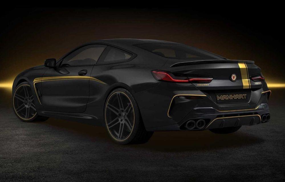 Tunerul Manhart a pregătit modificări pentru BMW Seria 8: versiunea M850i oferă acum 630 CP - Poza 11