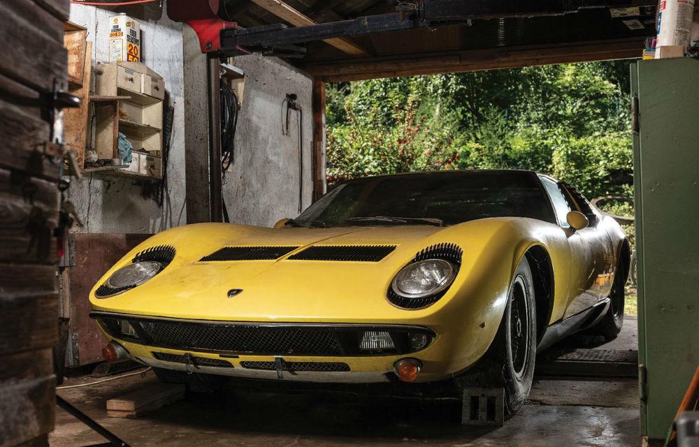 Un exemplar Lamborghini Miura va fi scos la licitație în octombrie: prețul de vânzare, estimat la 1.2 milioane de dolari - Poza 1