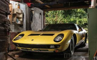 Un exemplar Lamborghini Miura va fi scos la licitație în octombrie: prețul de vânzare, estimat la 1.2 milioane de dolari