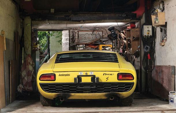 Un exemplar Lamborghini Miura va fi scos la licitație în octombrie: prețul de vânzare, estimat la 1.2 milioane de dolari - Poza 2