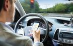 Proiectul care interzice șoferilor să țină telefonul în mână la volan ar putea fi adoptat luni: amenzi de 580 de lei și 30 de zile fără permis