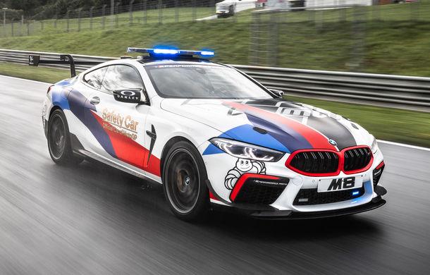 Noul BMW M8 a devenit Safety Car pentru Moto GP: modelul oferă 625 de cai putere și este bazat pe varianta Competition - Poza 2