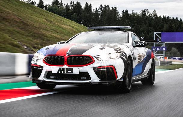 Noul BMW M8 a devenit Safety Car pentru Moto GP: modelul oferă 625 de cai putere și este bazat pe varianta Competition - Poza 1