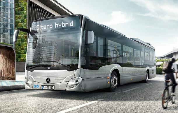 Primarul Capitalei anunță achiziția a 130 de autobuze Mercedes-Benz Citaro Hybrid: primul autobuz va fi livrat în mai 2020 - Poza 1