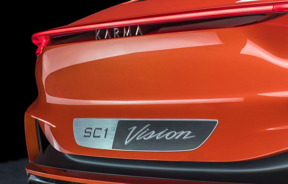 Karma prezintă conceptul electric SC1 Vision: prototipul nu va intra în producție - Poza 5