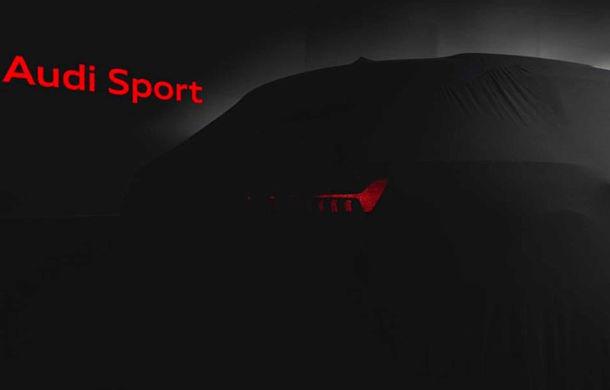 Teaser pentru noul Audi RS6 Avant: prezentarea oficială va avea loc în septembrie - Poza 1