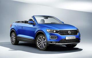 Volkswagen prezintă noul T-Roc Cabriolet: SUV-ul cu plafon soft-top are 2 motoare pe benzină de 115 și 150 de cai putere