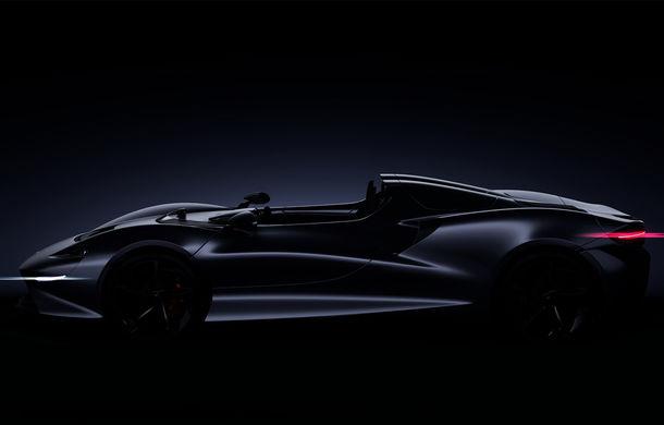McLaren pregătește un roadster extrem: modelul va fi produs în 399 de unități și va fi prezentat în 2020 - Poza 1