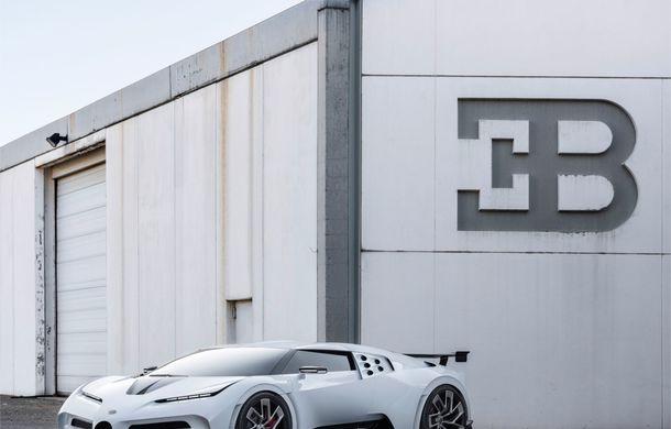 Bugatti a prezentat noul Centodieci: modelul special inspirat de legendarul EB110 va fi produs în 10 unități și va avea un preț de pornire de 8 milioane de euro - Poza 11