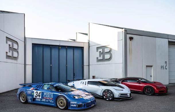 Bugatti a prezentat noul Centodieci: modelul special inspirat de legendarul EB110 va fi produs în 10 unități și va avea un preț de pornire de 8 milioane de euro - Poza 14