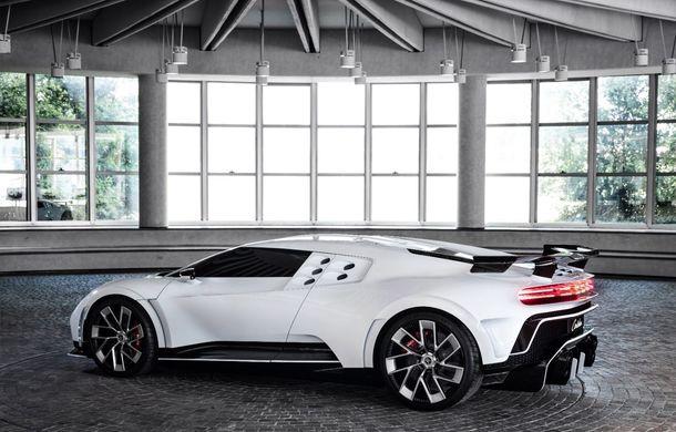 Bugatti a prezentat noul Centodieci: modelul special inspirat de legendarul EB110 va fi produs în 10 unități și va avea un preț de pornire de 8 milioane de euro - Poza 5