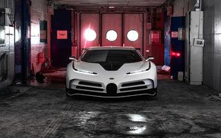 Bugatti a prezentat noul Centodieci: modelul special inspirat de legendarul EB110 va fi produs în 10 unități și va avea un preț de pornire de 8 milioane de euro