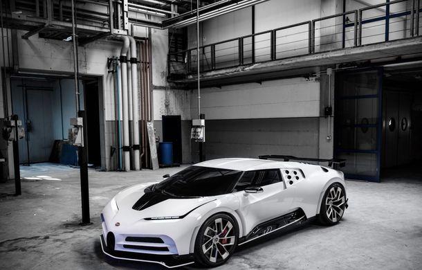 Bugatti a prezentat noul Centodieci: modelul special inspirat de legendarul EB110 va fi produs în 10 unități și va avea un preț de pornire de 8 milioane de euro - Poza 2