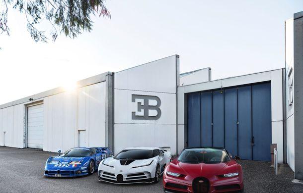 Bugatti a prezentat noul Centodieci: modelul special inspirat de legendarul EB110 va fi produs în 10 unități și va avea un preț de pornire de 8 milioane de euro - Poza 13