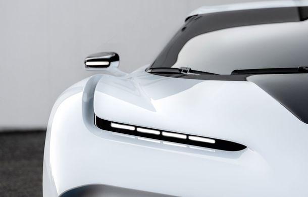 Bugatti a prezentat noul Centodieci: modelul special inspirat de legendarul EB110 va fi produs în 10 unități și va avea un preț de pornire de 8 milioane de euro - Poza 15