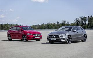 Mercedes-Benz Clasa A și Clasa B primesc versiuni plug-in hybrid: 218 cai putere și autonomie electrică de până la 69 de kilometri