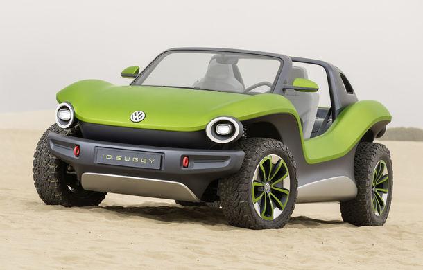 Volkswagen ID Buggy ar putea primi o versiune de serie: varianta de pre-producție a debutat în off-road la Concursul de Eleganță de la Pebble Beach - Poza 2