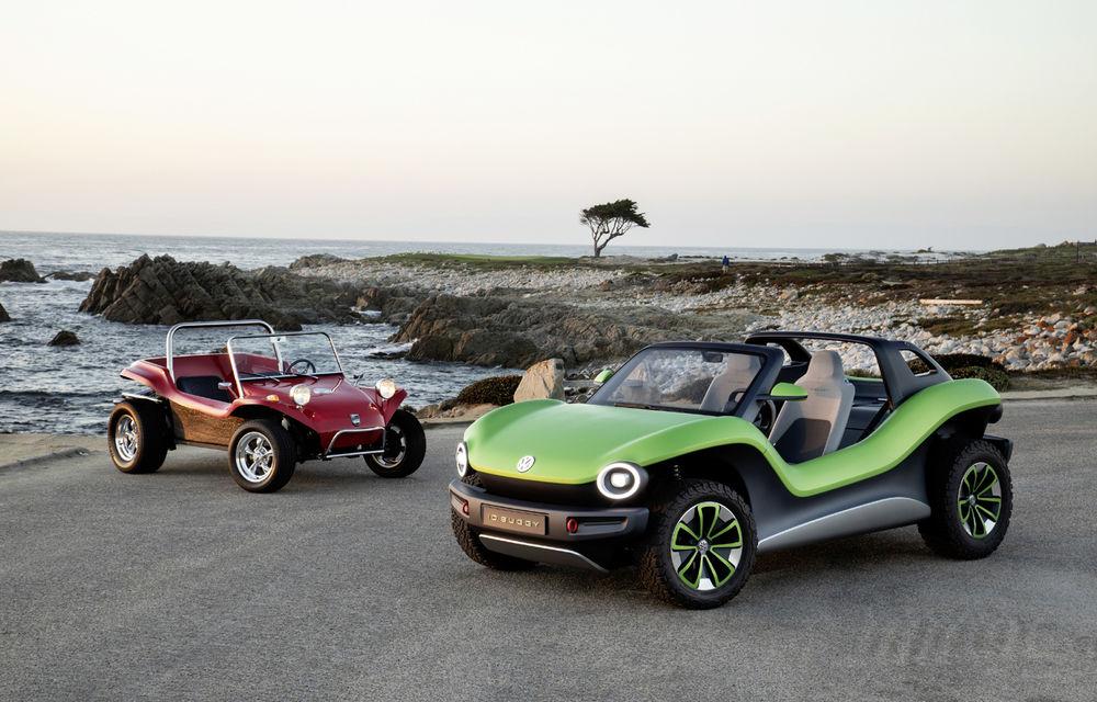 Volkswagen ID Buggy ar putea primi o versiune de serie: varianta de pre-producție a debutat în off-road la Concursul de Eleganță de la Pebble Beach - Poza 9