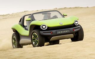 Volkswagen ID Buggy ar putea primi o versiune de serie: varianta de pre-producție a debutat în off-road la Concursul de Eleganță de la Pebble Beach