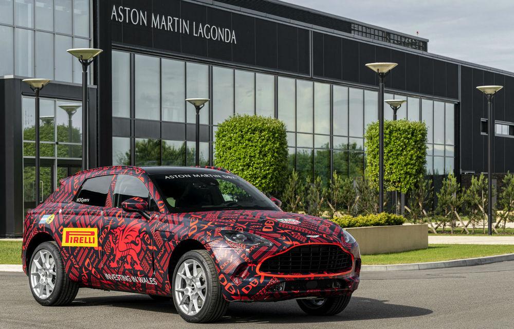 Primul SUV Aston Martin va fi prezentat în decembrie 2019: britanicii au deschis lista comenzilor pentru DBX - Poza 1