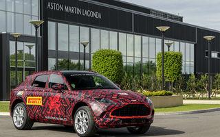 Primul SUV Aston Martin va fi prezentat în decembrie 2019: britanicii au deschis lista comenzilor pentru DBX