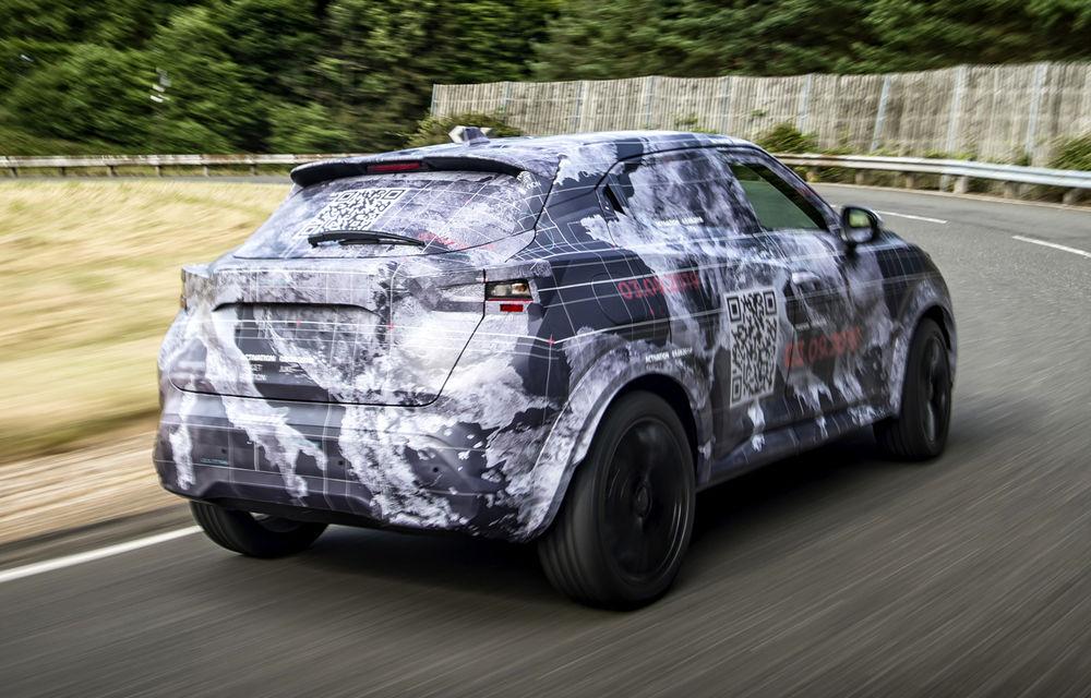 Primele imagini camuflate cu noua generație Nissan Juke: SUV-ul subcompact va avea jante de 19 inch, ampatament mărit și sistem ProPilot - Poza 10