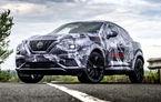 Primele imagini camuflate cu noua generație Nissan Juke: SUV-ul subcompact va avea jante de 19 inch, ampatament mărit și sistem ProPilot