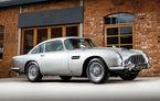 Cea mai scumpă mașină a lui James Bond: un exemplar Aston Martin DB5 a fost vândut la licitație cu 6.3 milioane de dolari