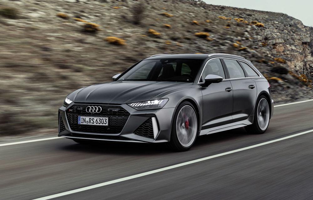 Audi prezintă noul RS6 Avant: tehnologie mild hybrid, motor V8 biturbo de 600 CP și 800 Nm - Poza 1