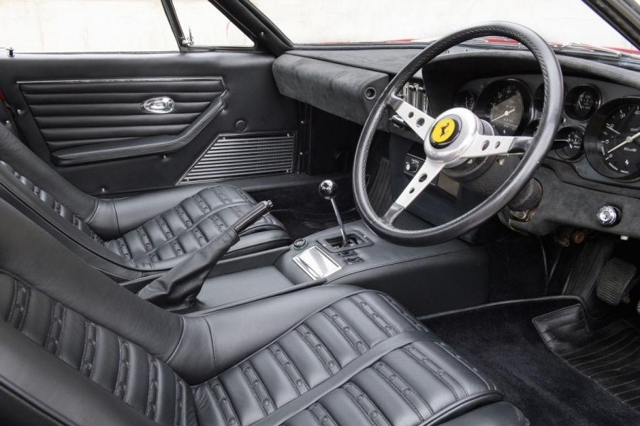 Un exemplar Ferrari Daytona din 1972 va fi scos la licitație în septembrie: prețul, estimat la 500.000 de euro - Poza 4