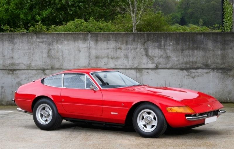 Un exemplar Ferrari Daytona din 1972 va fi scos la licitație în septembrie: prețul, estimat la 500.000 de euro - Poza 1