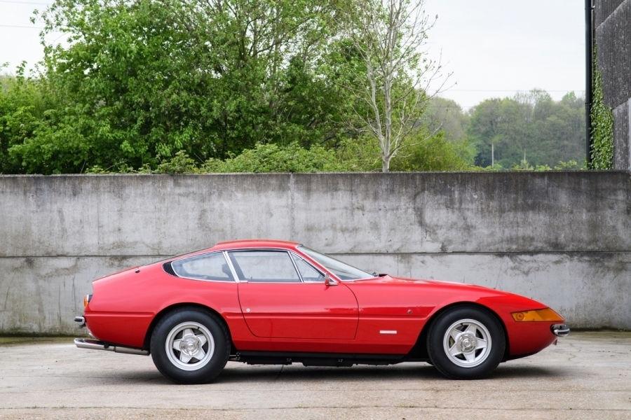 Un exemplar Ferrari Daytona din 1972 va fi scos la licitație în septembrie: prețul, estimat la 500.000 de euro - Poza 2