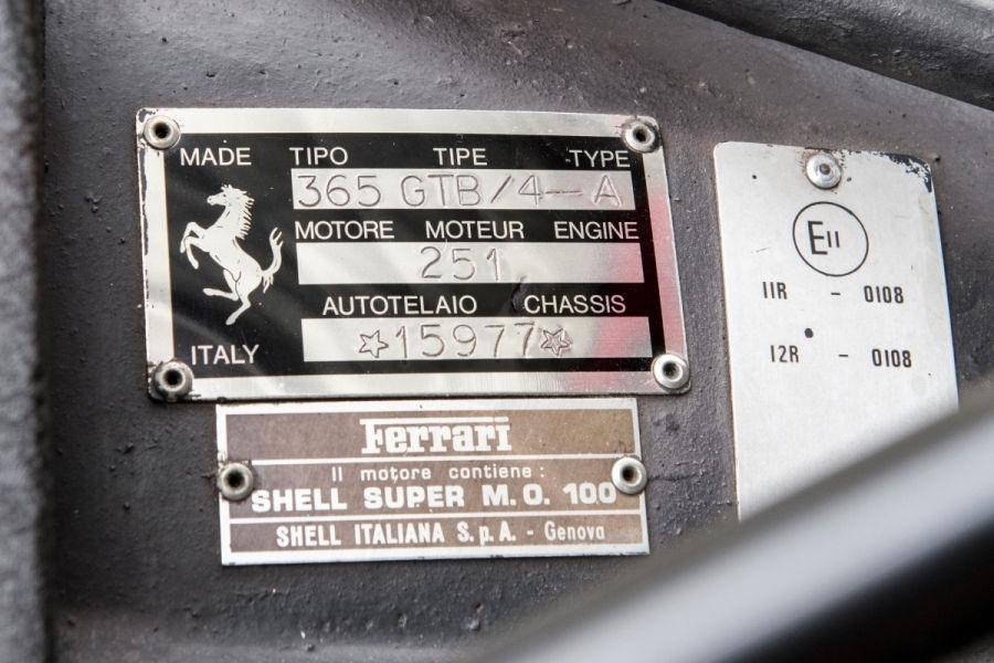 Un exemplar Ferrari Daytona din 1972 va fi scos la licitație în septembrie: prețul, estimat la 500.000 de euro - Poza 5