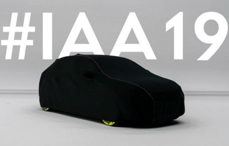 """Opel a publicat un teaser pentru un nou model """"electrificat"""": lansarea va avea loc la Frankfurt - Poza 1"""