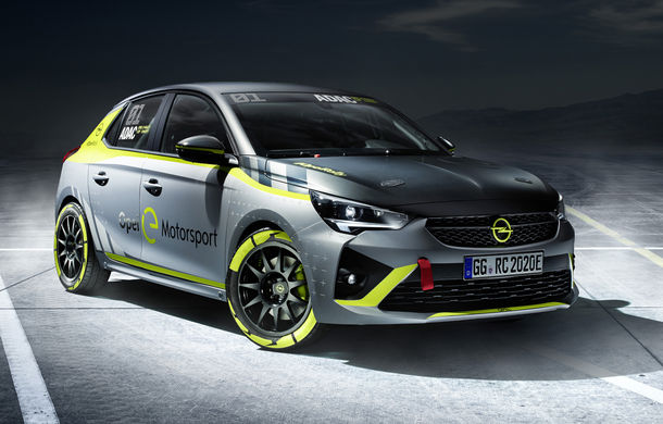 Opel anunță o versiune pentru raliuri a hatchback-ului electric Corsa-e: modelul va debuta în propria competiție în 2020 - Poza 2