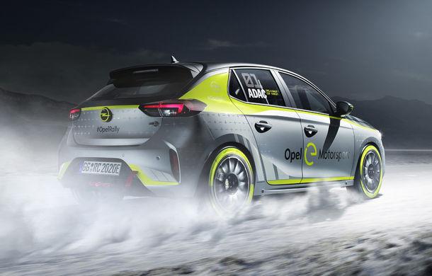 Opel anunță o versiune pentru raliuri a hatchback-ului electric Corsa-e: modelul va debuta în propria competiție în 2020 - Poza 7