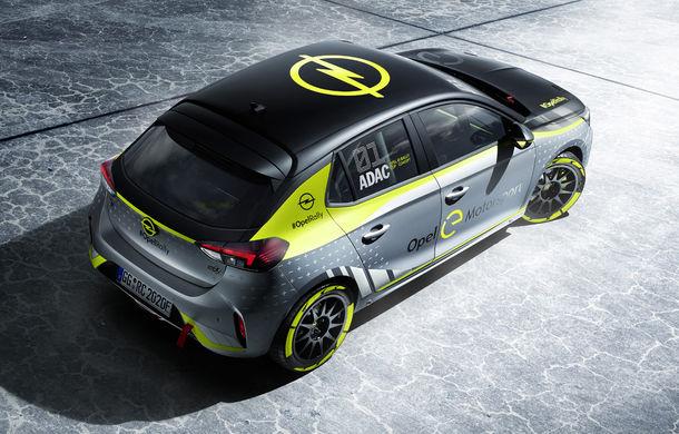 Opel anunță o versiune pentru raliuri a hatchback-ului electric Corsa-e: modelul va debuta în propria competiție în 2020 - Poza 3