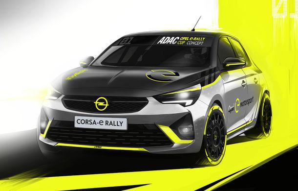 Opel anunță o versiune pentru raliuri a hatchback-ului electric Corsa-e: modelul va debuta în propria competiție în 2020 - Poza 8
