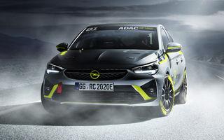 Opel anunță o versiune pentru raliuri a hatchback-ului electric Corsa-e: modelul va debuta în propria competiție în 2020