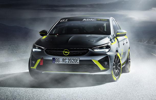 Opel anunță o versiune pentru raliuri a hatchback-ului electric Corsa-e: modelul va debuta în propria competiție în 2020 - Poza 1