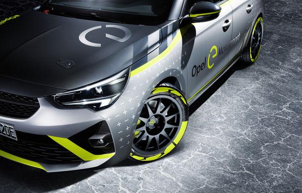 Opel anunță o versiune pentru raliuri a hatchback-ului electric Corsa-e: modelul va debuta în propria competiție în 2020 - Poza 5