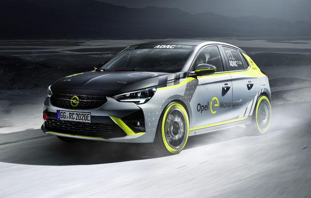Opel anunță o versiune pentru raliuri a hatchback-ului electric Corsa-e: modelul va debuta în propria competiție în 2020 - Poza 6