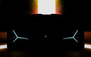 Lamborghini a publicat un teaser pentru un nou model: lansarea va avea loc la Frankfurt