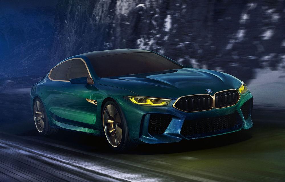 BMW M8 Grand Coupe va fi prezentat în luna noiembrie: debutul va avea loc la Los Angeles - Poza 1