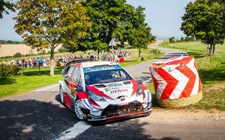 Triplă pentru Toyota în Raliul Germaniei: Ott Tanak câștigă etapa din WRC